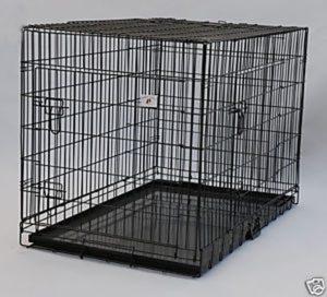 2 Door Pet Wire Cage