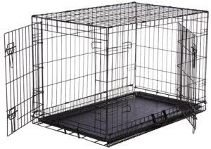 AmazonBasics Folding Metal Dog Crate