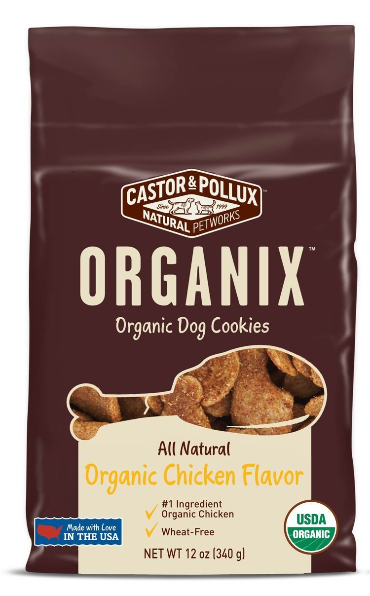castor-pollux-organix-chicken-flavored-dog-cookies